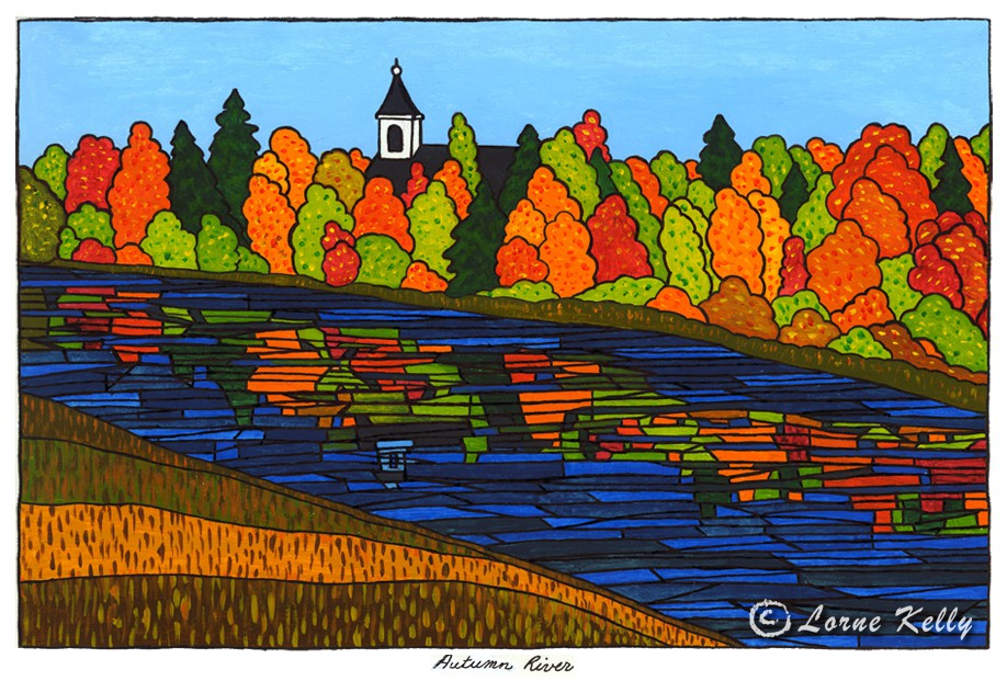 Central Canadian Landscape Paintings By Lorne Kelly